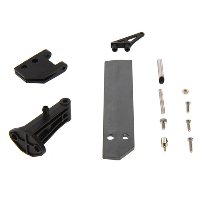 Atomik Rudder and Support Set for Barbwire XL Brushless RC Boat, 18115