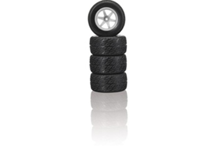 Megatech Megapro Slick Tires w/Rims (4)