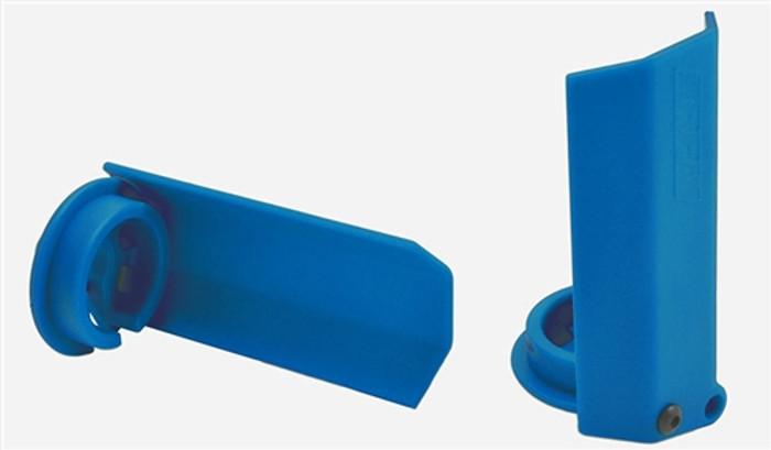 RPM Blue Shock Shaft Guards for Traxxas X-Maxx, 80435