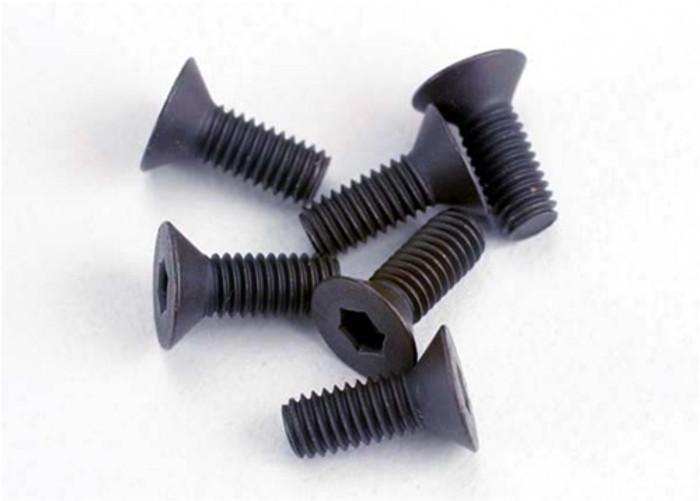 Traxxas 3x8mm Countersunk Machine Hex Screws, 2550