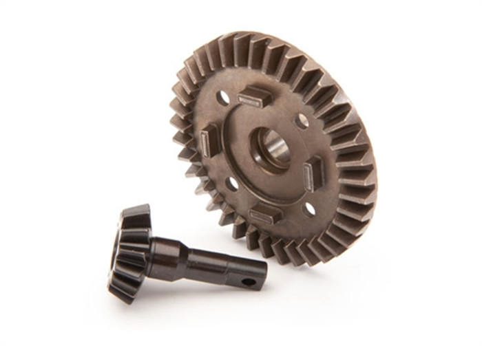 Traxxas Front Differential Ring and Pinion Gear for Maxx 4S, 8978
