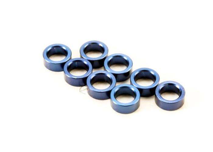Traxxas Blue Aluminum Pushrod Spacer BL E-Revo, 5133A