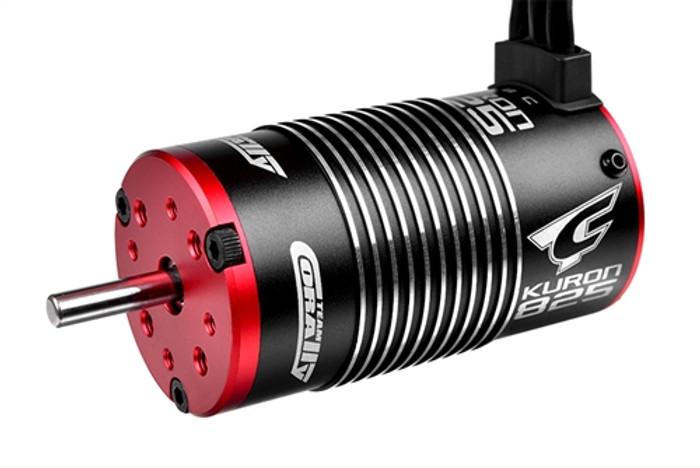 Team Corally Kuron 825 4-Pole 2050KV Brushless Sensorless Electric Motor - 1/8, C-54055