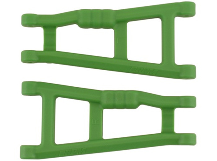 RPM Rear A-Arms for Traxxas Electric Stampede 2WD and Rustler - Green, 80184