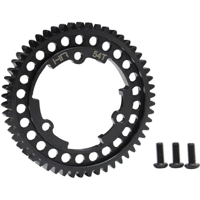 Hot Racing Steel Spur Gear 54T 1 Mod for Traxxas E-Revo 2/X-Maxx/XO-1
