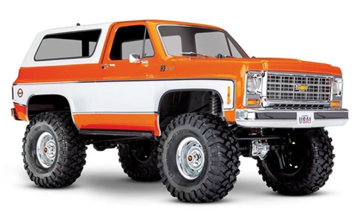 Traxxas TRX-4 Chevrolet K5 Blazer 4WD - Orange, 82076-4O