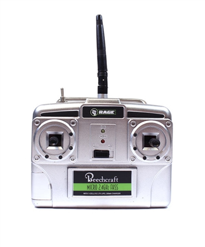 Rage Micro 5-Channel Transmitter for Beechcraft Staggerwing Micro RTF, A1202