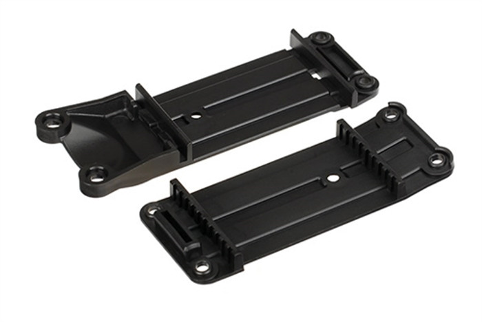 Traxxas Tie Bar Mounts, Front and Rear - X-Maxx, 7716