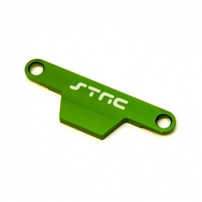 ST Racing Concepts Battery Hold-Down Plate - Rustler/Bandit (Green), ST3727AG
