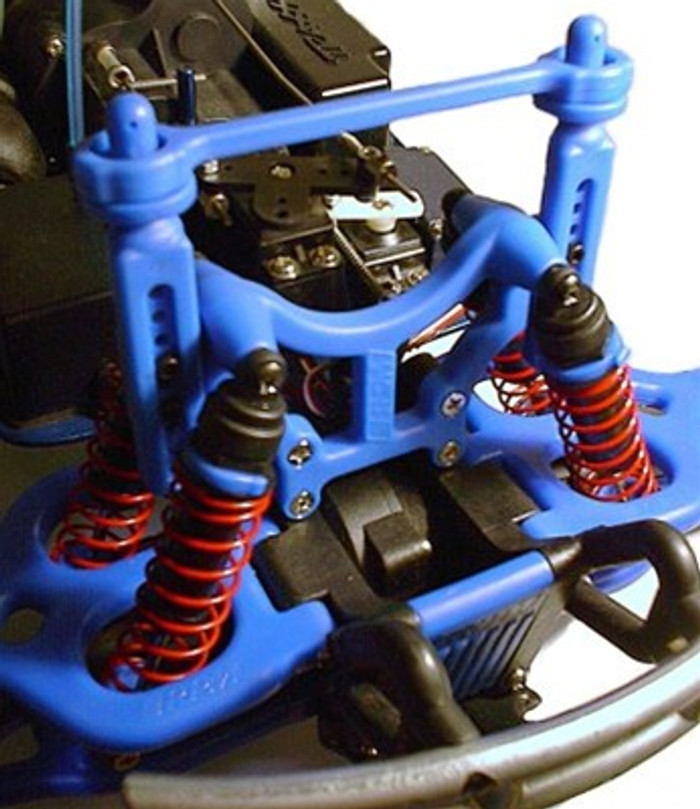 RPM Shock Tower and Body Mounts for the Traxxas T/E-Maxx - Black, 80162