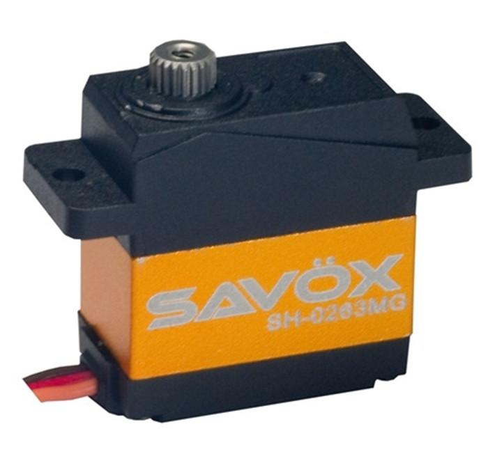 Savox SH-0263MG Super Torque Metal Gear Micro Digital Servo
