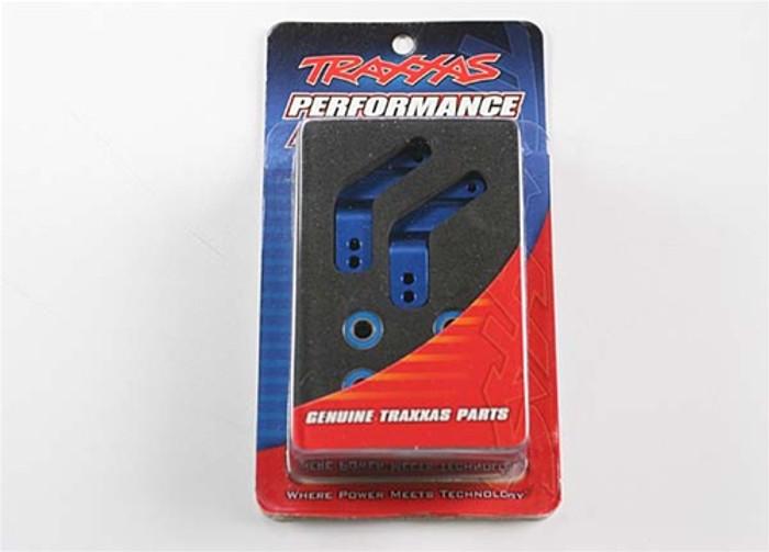 Traxxas Blue Aluminum Stub Axle Carriers, 3652A