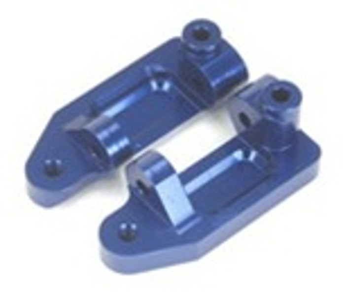 ST RACING CNC Machined Aluminum Caster Blocks (Blue), 3632B