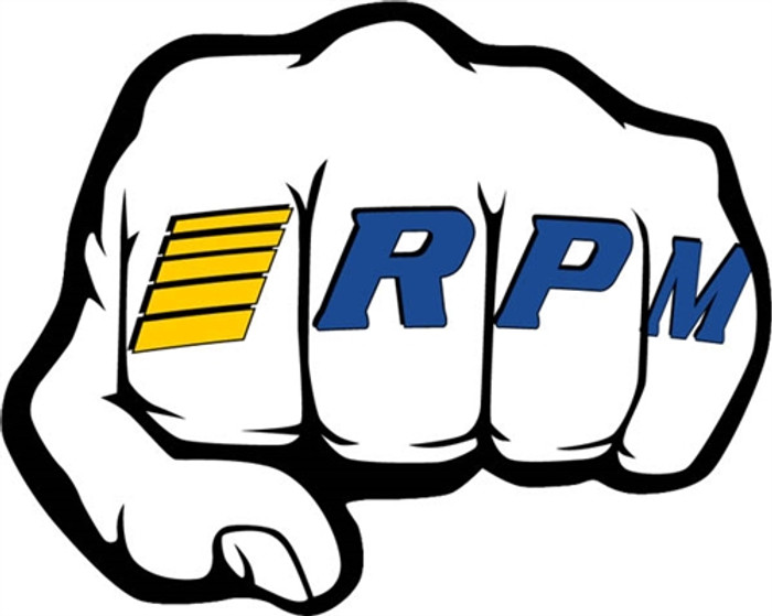 "RPM ""Fist"" Logo Decal Sheets, 70020"