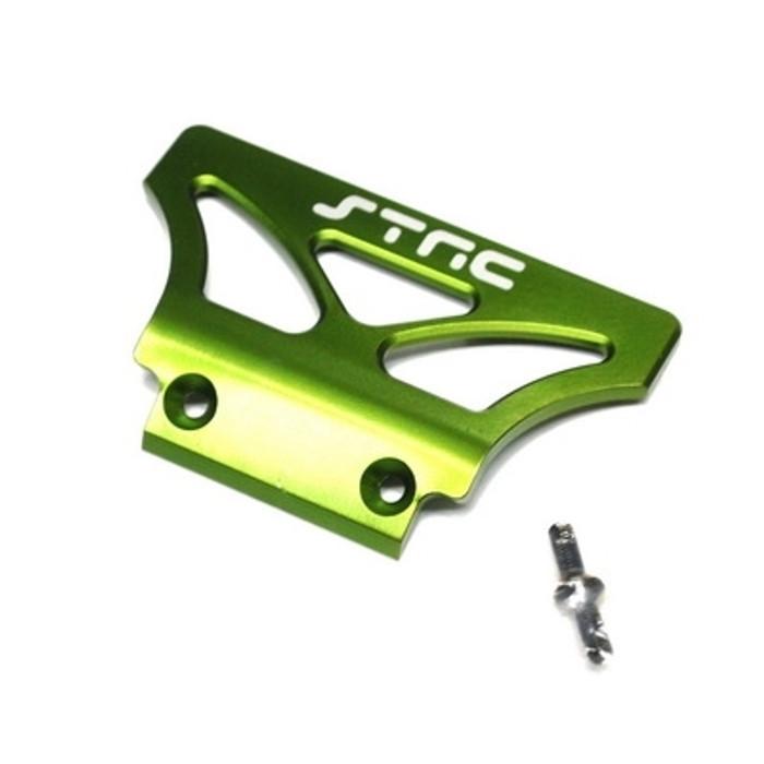 ST Racing Concepts Aluminum Oversized Front Bumper for Stampede/Rustler/Bandit (Green), 2735G