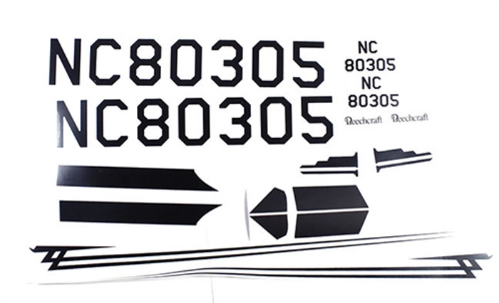 Rage Decal Set for Beechcraft Staggerwing Micro RTF, A1198