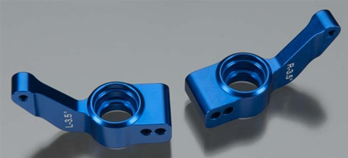 Traxxas Axle Carriers Rear 6061-T6 Blue Aluminum Left and Right - XO-1, 6455