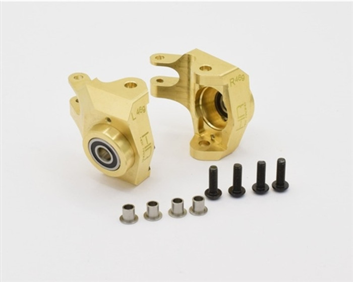 Hot Racing Heavy Duty Brass Steering Knuckles for Axial SCX10 II