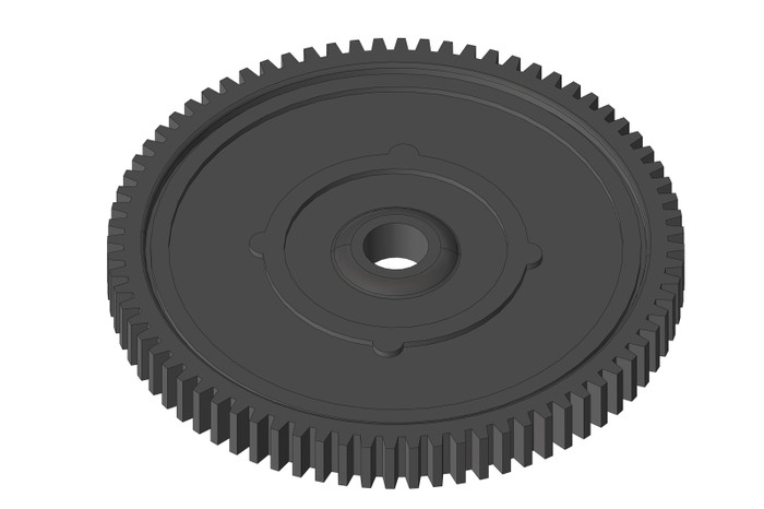 Team Corally 56-Tooth Spur Gear - 1/10 Mammoth, Moxoo, Triton, C-00250-087