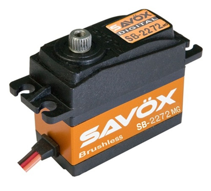 Savox SB-2272MG Lightning Speed Brushless Metal Gear Digital Servo