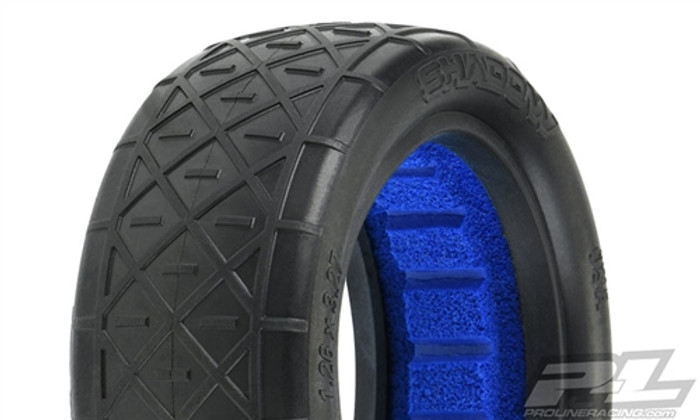 "Pro-Line Shadow 2.2"" 4WD S3 Soft Off-Road Buggy Front Tires, 8294-203"