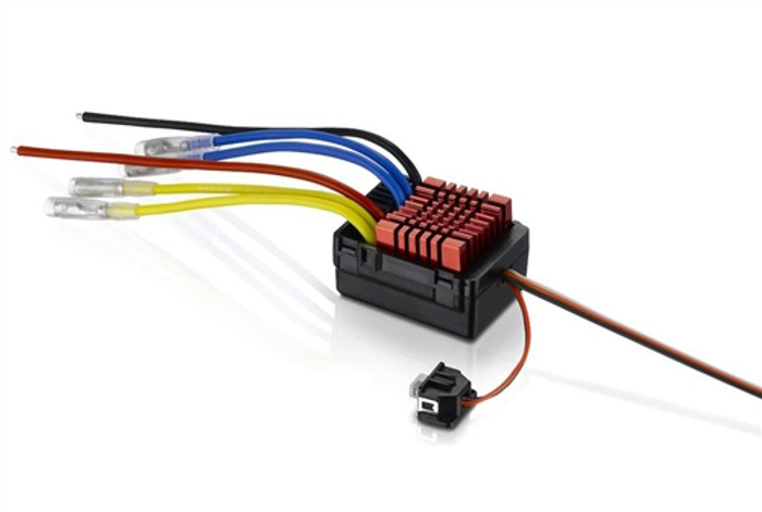 Hobbywing Quicrun 880 Waterproof Dual Motor Brushed ESC, 30120301