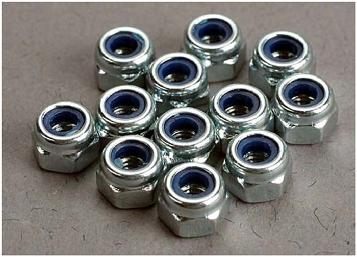 Traxxas 3mm Nylon Locking Nuts (12), 2745
