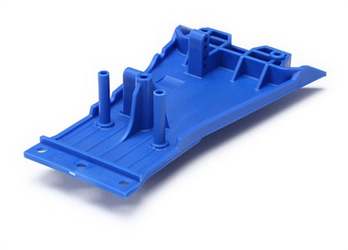 Traxxas Blue Lower Chassis for Slash 2WD Low-CG Conversion Kit, 5831A