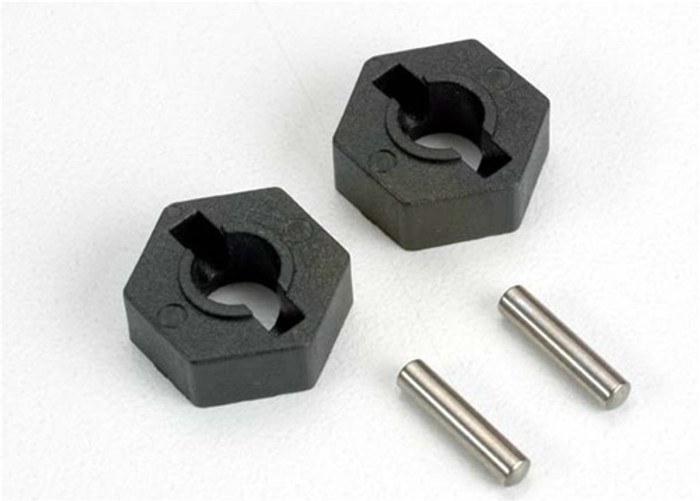 Traxxas Hex Wheel Hubs and Axle Pins (2.5x12mm), 4954