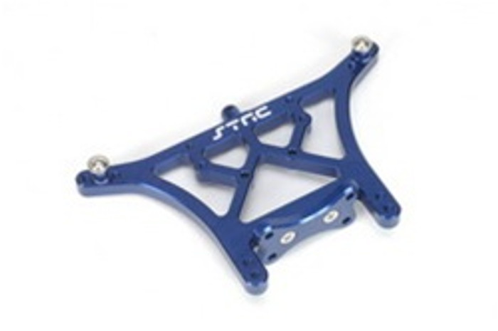 ST RACING CNC Machined Aluminum 6mm HD Rear Shock Tower (Blue), 3638B