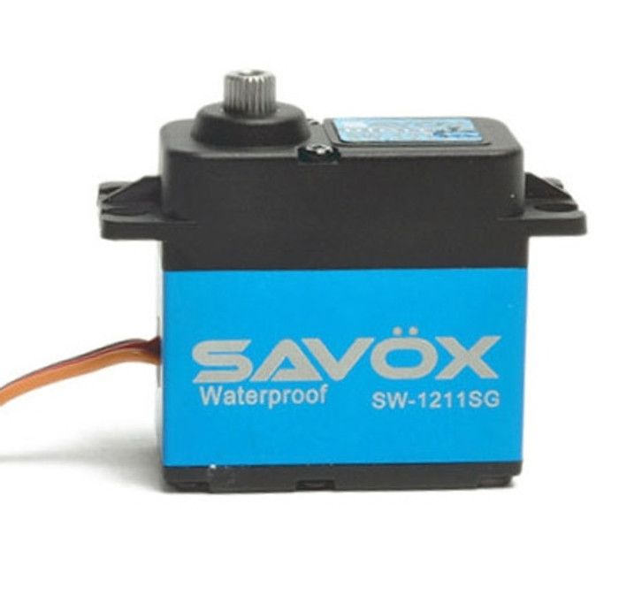Savox SW-1211SG Waterproof Coreless Steel Gear Digital Servo