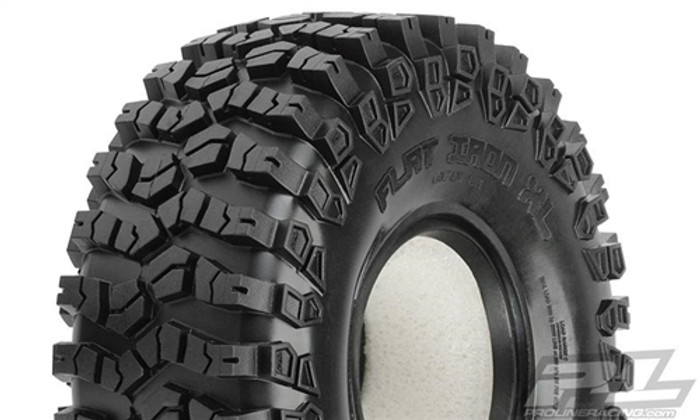"Pro-Line Flat Iron 1.9"" XL G8 Rock Terrain Truck Tires for Crawler Front or Rear, 10112-00"