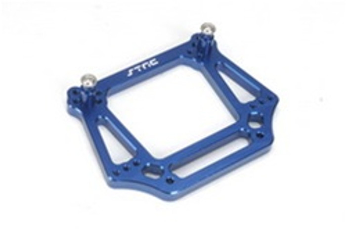 ST RACING CNC Machined Aluminum 6mm HD Front Shock Tower (Blue), 3639B