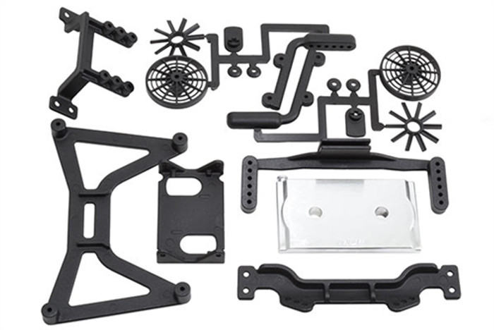 RPM No Clip Body Mount System for the Traxxas Slash 2WD, 70860