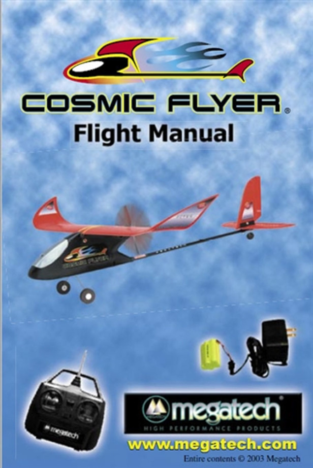 Megatech Cosmic Flyer Airplane User Manual Download