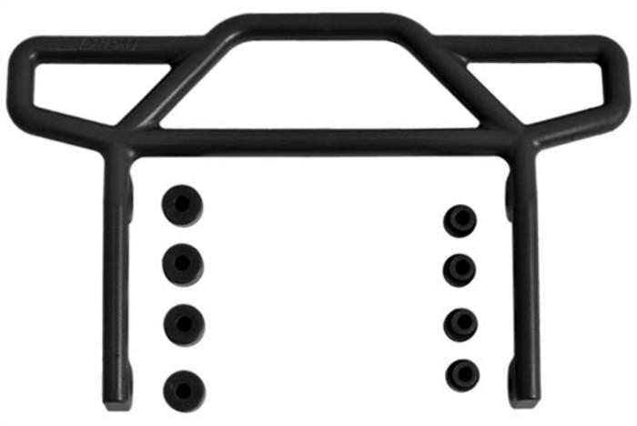 RPM Rear Bumper for Traxxas Rustler 2WD - Black, 70812