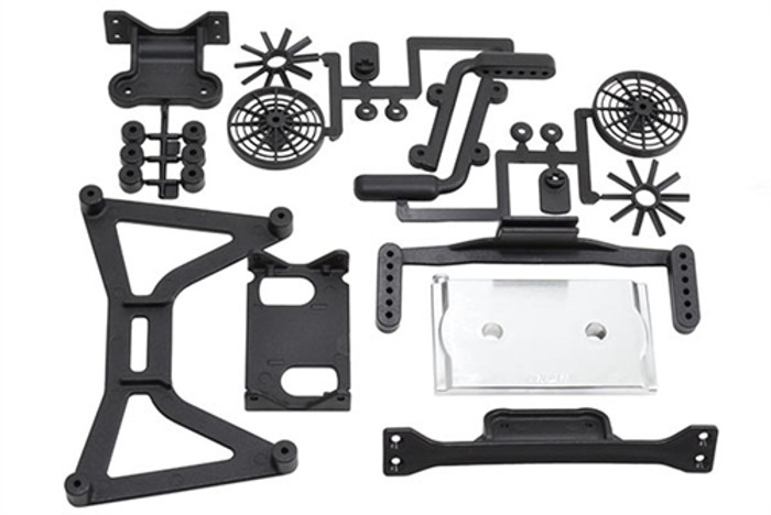 RPM No Clip Body Mount System for the Traxxas Slash 4X4, 70920