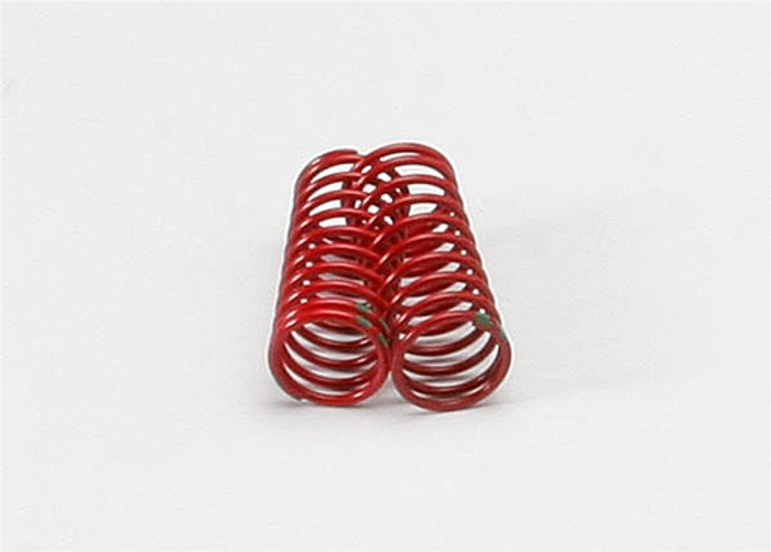 Traxxas Red GTR Shock Spring 1.8 Rate Double Green Stripe, 5940