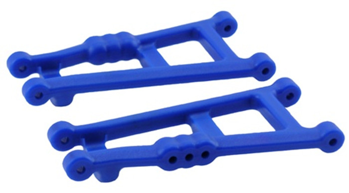 RPM Rear A-Arms for Traxxas Electric Stampede 2WD and Rustler - Blue, 80185