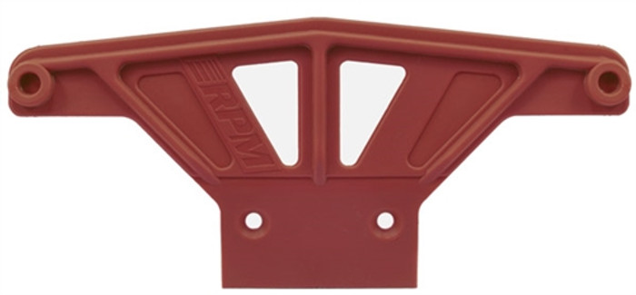 RPM Wide Front Bumper for Traxxas Rustler/Stampede/Bandit/Nitro Sport - Red, 81169