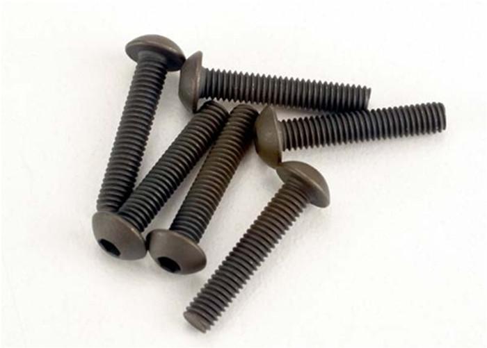 Traxxas Button-Head Machine Screws, 3x15mm, 2579