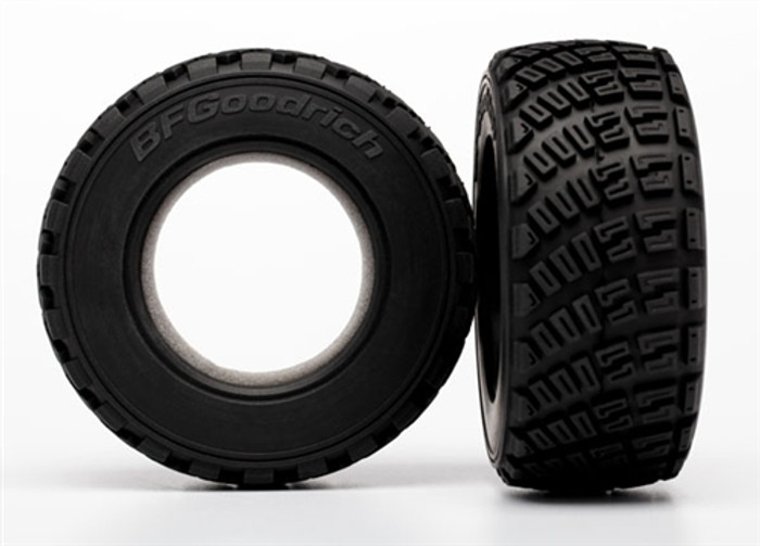 Traxxas BFGoodrich Gravel Pattern Tires for Rally 10th Car, 7471