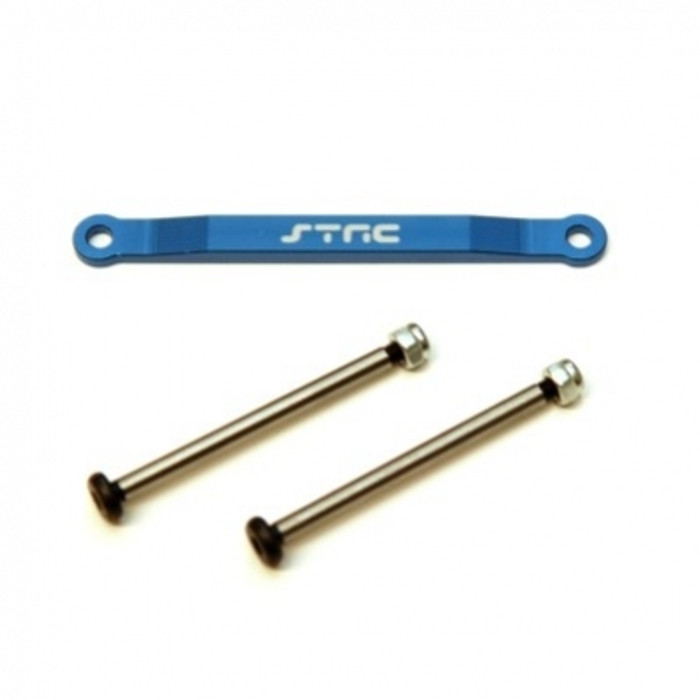ST Racing Concepts Aluminum Hinge-Pin Brace Kit (Blue), 2532XB