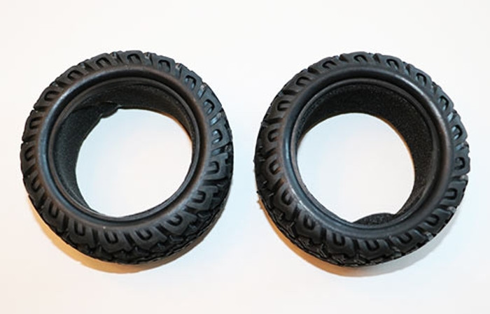 DHK Tires with foam inserts (2) for the Raz-R 2 Stadium Truck, 8141-002