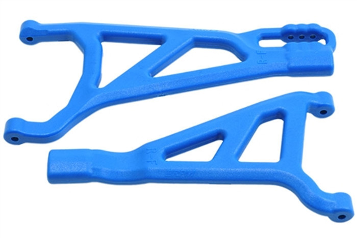 RPM Front Right A-Arms for Traxxas Revo 2.0 - Blue, 81465