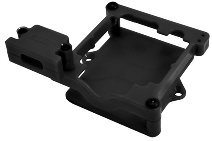RPM Black ESC Cage for Castle Sidewinder 3 and SCT, 73272