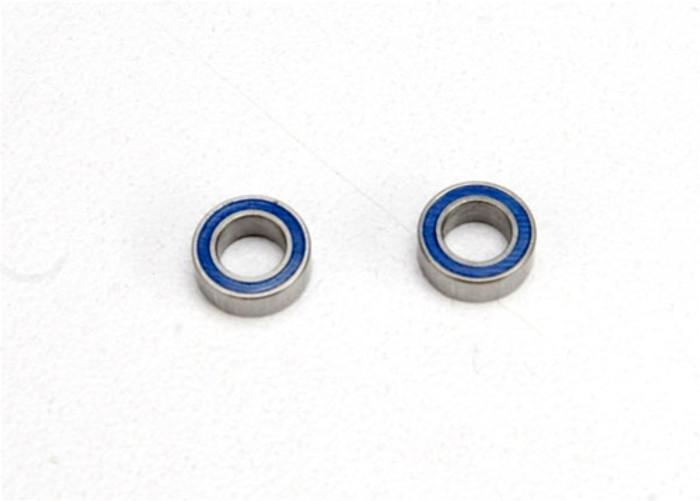 Traxxas Ball Bearings (blue rubber sealed, 4x7x2.5mm), 5124