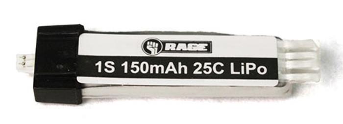 Rage 150mAh 1S 3.7V 15C LiPo Battery for SSL, A1124
