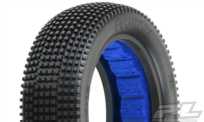 "Pro-Line Fugitive 2.2"" M4 Super Soft 2WD Off-Road Buggy Front Tires, 8295-03"