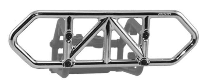 RPM Rear Bumper for Traxxas Slash 4X4 - Chrome, 80123